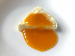 チーズとみかんコンフィチュール
